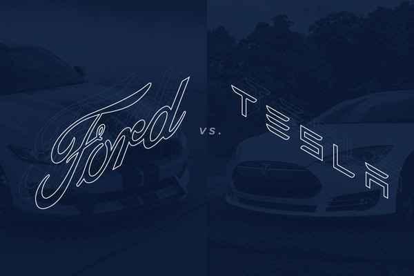 ford vs tesla manufacturing header